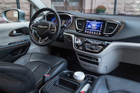 Chrysler Pacifica Touring-L dashboard wide view interior