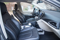 Chrysler Pacifica Touring-L front seats