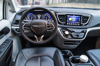 Chrysler Pacifica Touring-L steering wheel interior