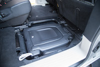 Chrysler Pacifica Touring-L floor flat seats fold