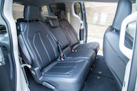 Chrysler Pacifica Touring-L second row rear seats
