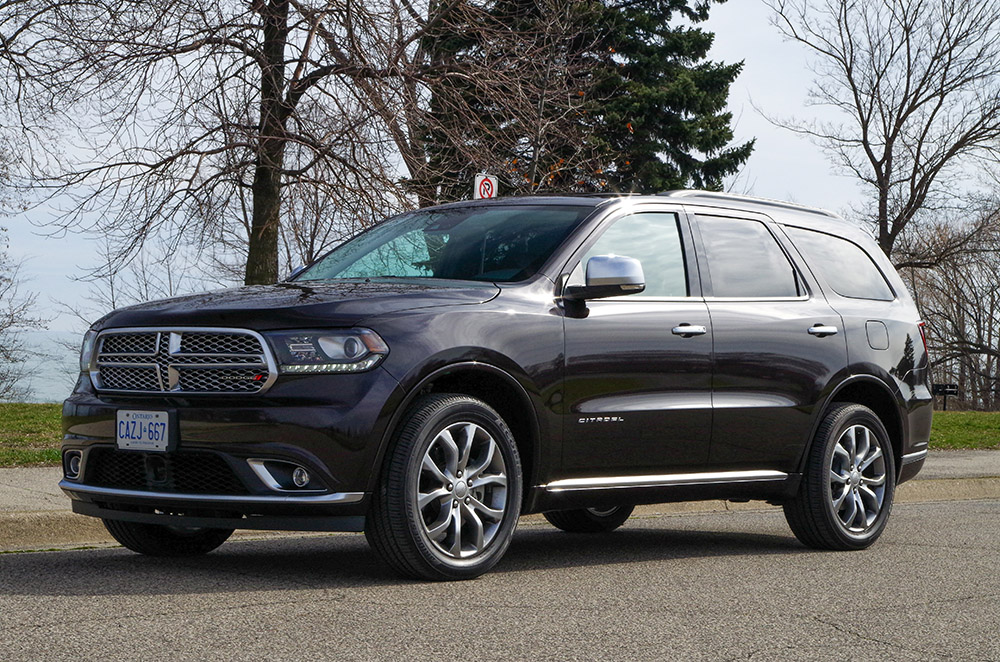 2017 Dodge Durango Citadel canada review new used price