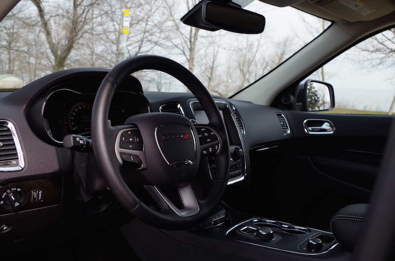 2017 Dodge Durango Citadel black interior