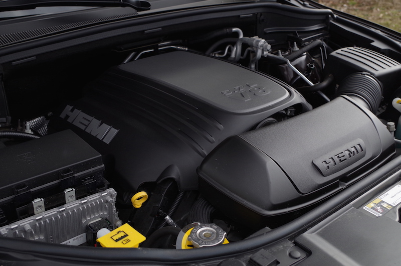 2017 Dodge Durango Citadel hemi v8 engine