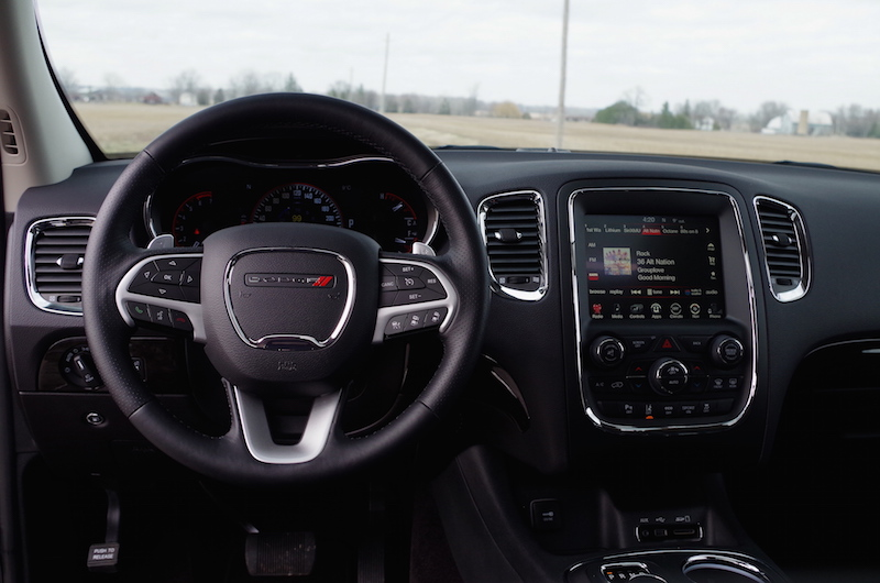 2017 Dodge Durango Citadel steering wheel