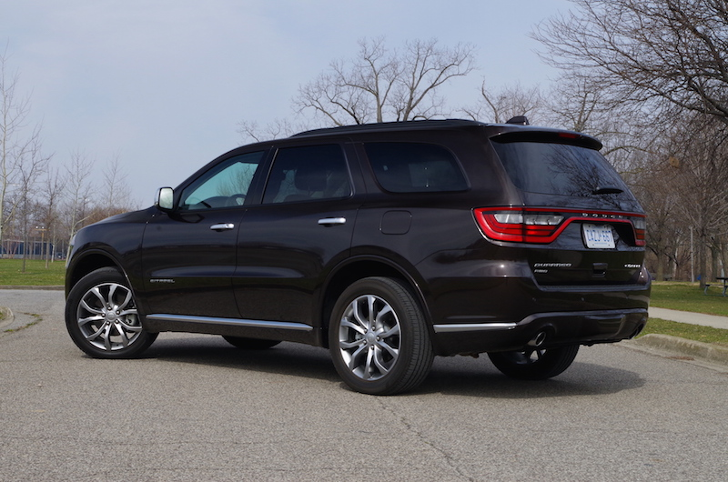2017 Dodge Durango Citadel rear quarter view