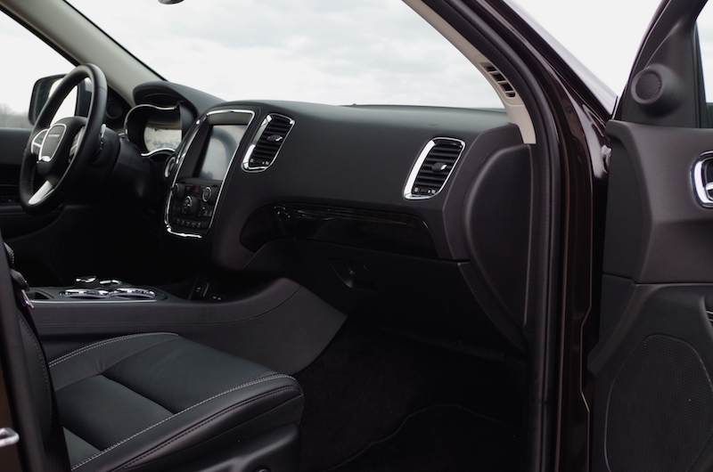 2017 Dodge Durango Citadel dashboard
