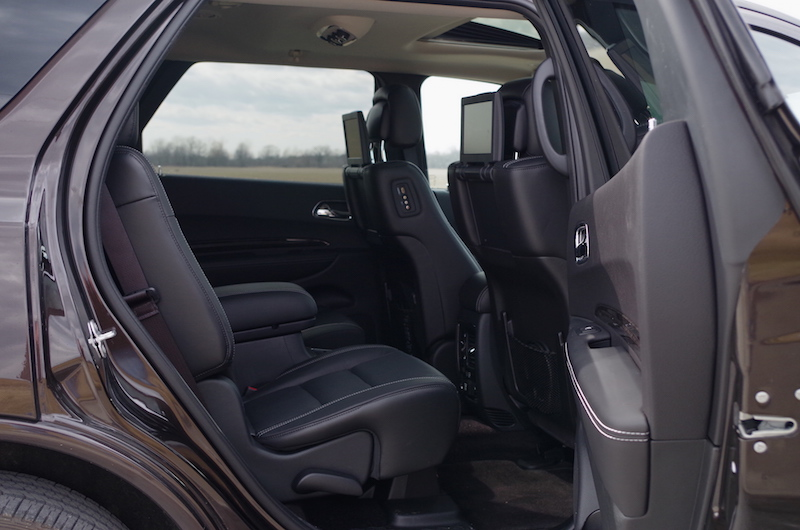 2017 Dodge Durango Citadel second row rear seats