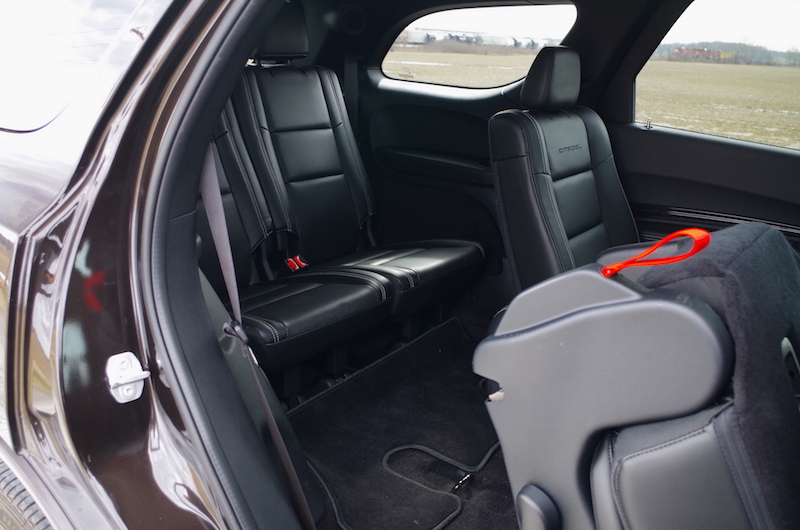 2017 Dodge Durango Citadel third row seats