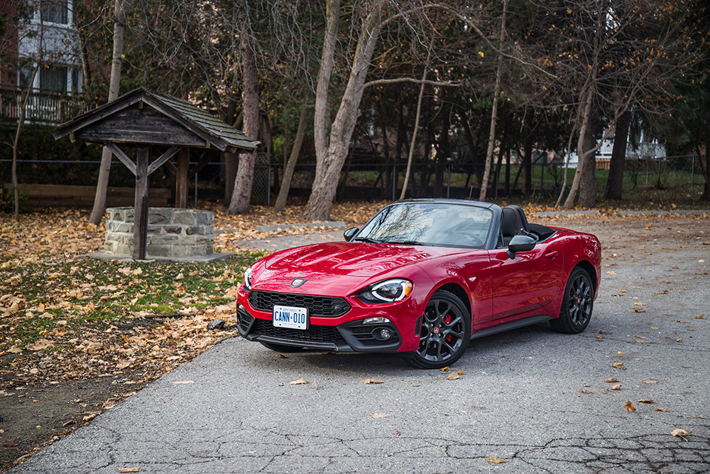 2017 Fiat 124 Spider Abarth canada review