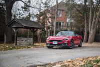 2017 Fiat 124 Spider Abarth rosso red