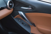 Fiat 124 Spider door handles