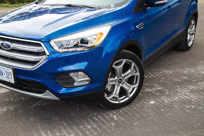 2017 Ford Escape without sport appearance package