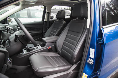 2017 Ford Escape front leather seats
