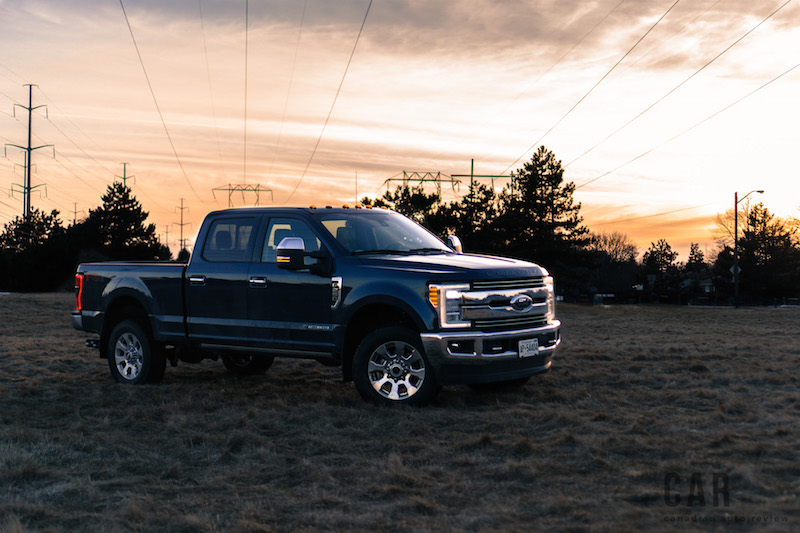 2017 Ford F-250 Super Duty jeans blue sunset