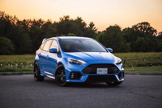 2017 Ford Focus RS canada review