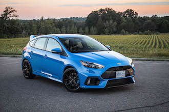 2017 Ford Focus RS hot hatch
