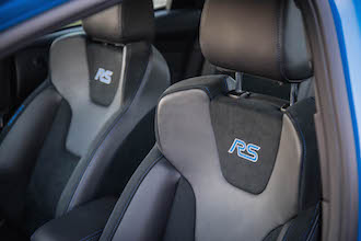2017 Ford Focus RS badged leather seats