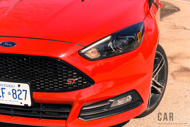 2017 Ford Focus ST fenders