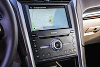 2017 Ford Fusion Energi Platinum sony display touchscreen