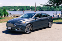 2017 Ford Fusion front view
