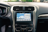 2017 Ford Fusion sync3 infotainment unit