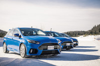 2017 Ford Focus RS nitrous blue track mecaglisse