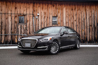 2017 Genesis G90 3.3T new grill headlights xenon