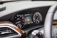 2017 Genesis G90 3.3T gauges tach speedo