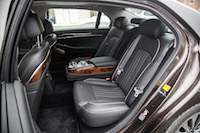 2017 Genesis G90 3.3T rear seat leather