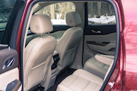 2017 gmc acadia denali second row seat