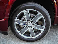 2017 GMC Acadia wheels tires rims