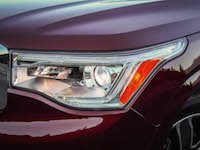 2017 GMC Acadia headlights front