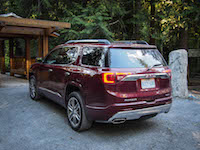 2017 GMC Acadia rear view