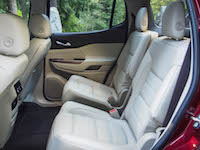 2017 GMC Acadia 2nd row seats