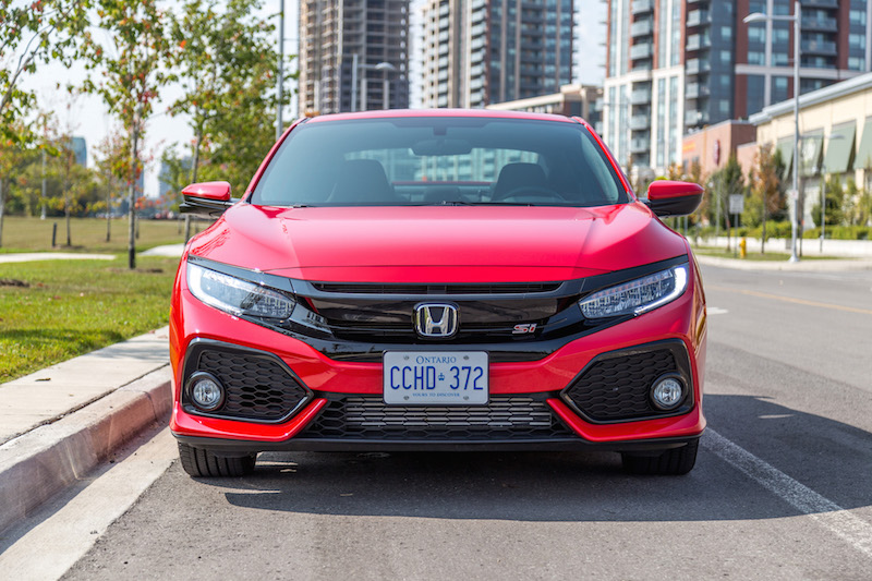 2017 Honda Civic Si Coupe front headlights
