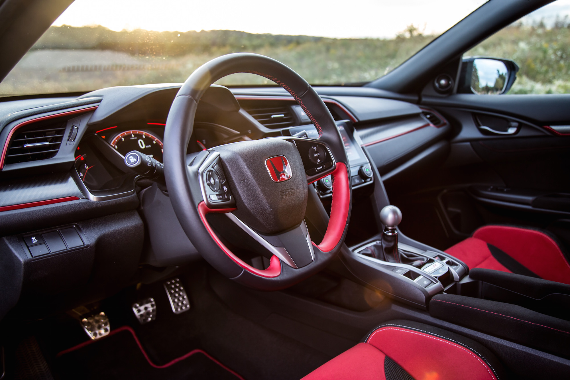 Review 2017 honda civic type r canadian auto review - 2017 honda civic type r interior ...