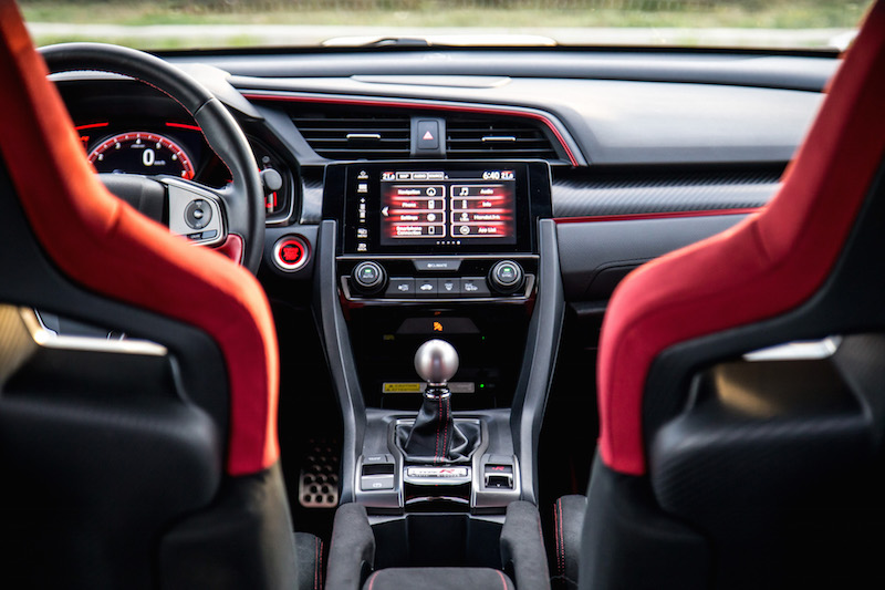 2017 Honda Civic Type R FK8 center console