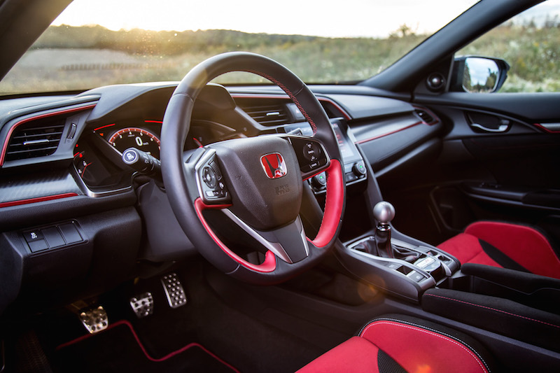 2017 Honda Civic Type R FK8 interior