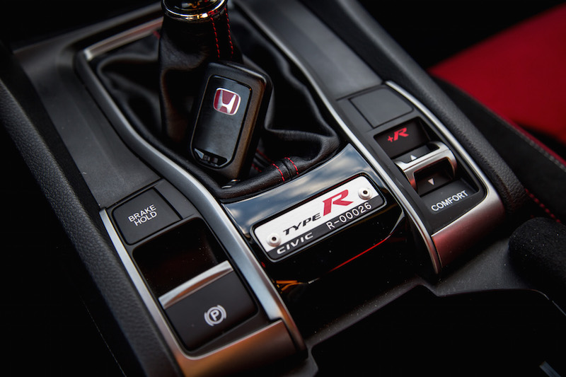 2017 Honda Civic Type R FK8 +R driving modes and keyfob