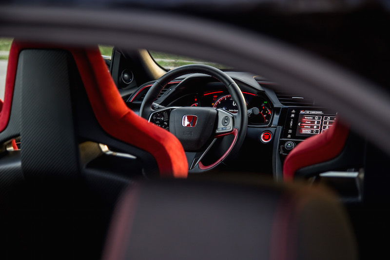 2017 Honda Civic Type R FK8 steering wheel