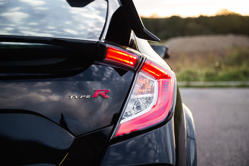 2017 Honda Civic Type R FK8 taillights