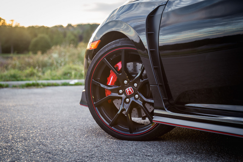2017 Honda Civic Type R FK8 wheels