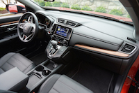 2017 Honda CR-V Touring dashboard wood panel