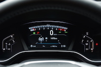 2017 Honda CR-V Touring gauges digital
