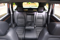 2017 Honda CR-V Touring rear seats