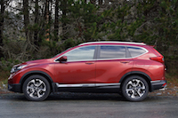 2017 Honda CR-V Touring side view