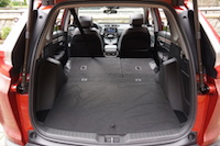 2017 Honda CR-V Touring trunk rear seats folded