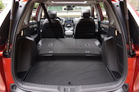 2017 Honda CR-V Touring cargo space