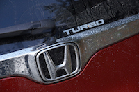2017 Honda CR-V Touring turbo badge